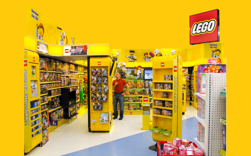 LEGO Worldwide Brand Store Project