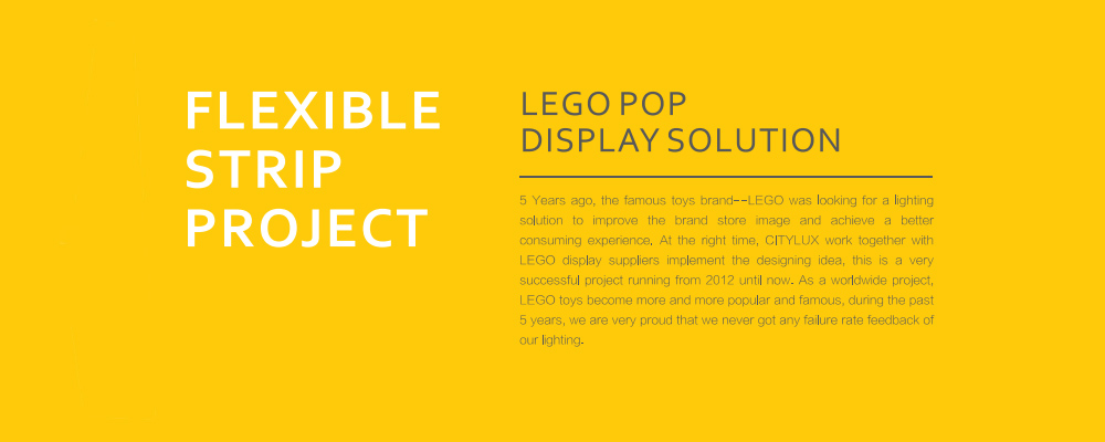 LEGO POP DISPLAY SOLUTION