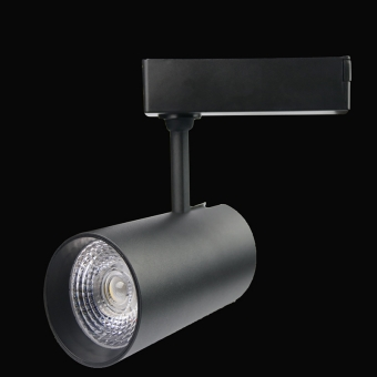 30W Black LED Track Light DS CITYLUX